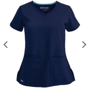 Grey's Anatomy Active 4 Pocket Top